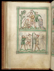 The Martyrdom Of St. Alban And The Martyrdom Of St. Amphibalus, In A Psalter